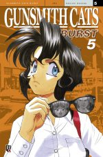 capa de Gunsmith Cats Burst