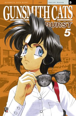 capa de Gunsmith Cats – Burst #05
