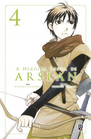 capa de A Heroica Lenda de Arslan #4