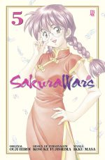 capa de Sakura Wars Digital