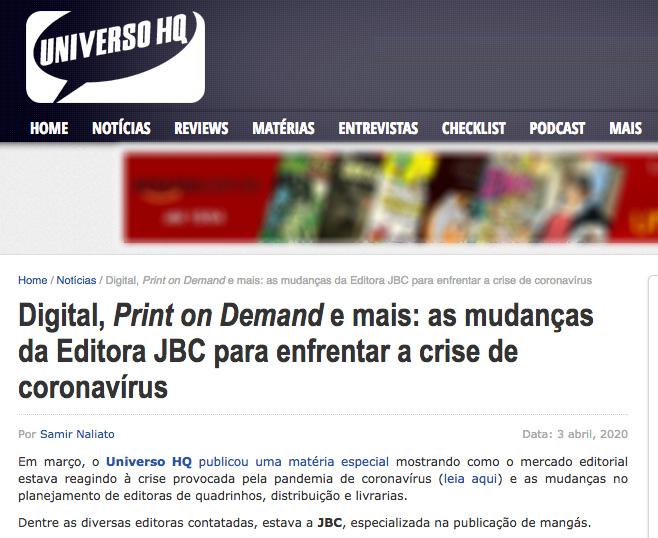 portal hq jbc na mídia