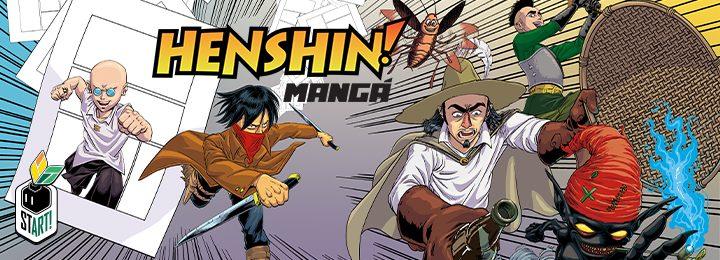 Henshin Mangá
