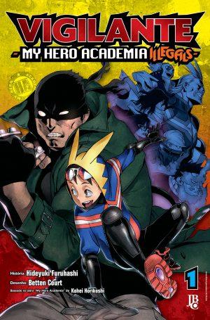 capa de Vigilante: My Hero Academia Illegals #01