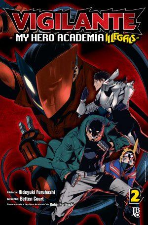 capa de Vigilante: My Hero Academia Illegals #02