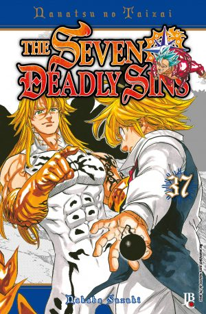 capa de The Seven Deadly Sins #37