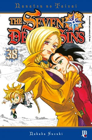 capa de The Seven Deadly Sins #38