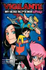 capa de Vigilante: My Hero Academia Illegals #03
