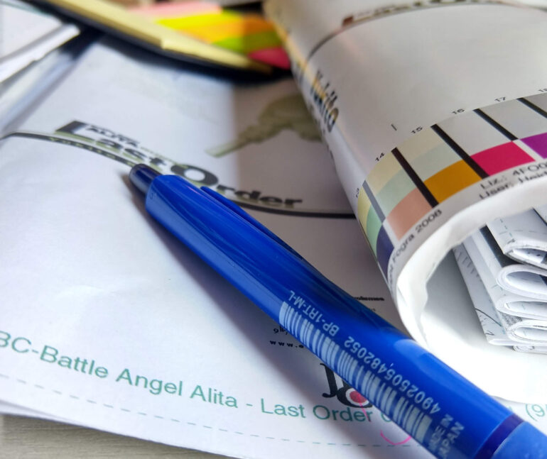 Battle angel Alita Last Order plotter 8 capa