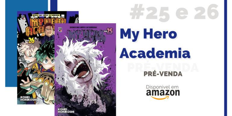 pre venda my hero academia 25 e 26 amazon