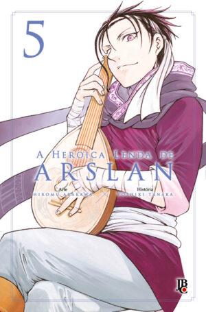 capa de A Heroica Lenda de Arslan #05