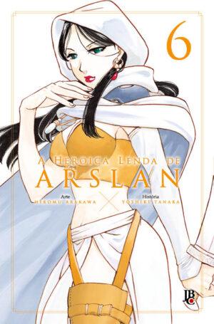 capa de A Heroica Lenda de Arslan #06