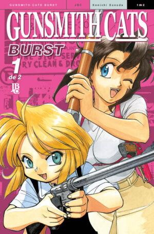 capa de Gunsmith Cats - Burst BIG #01