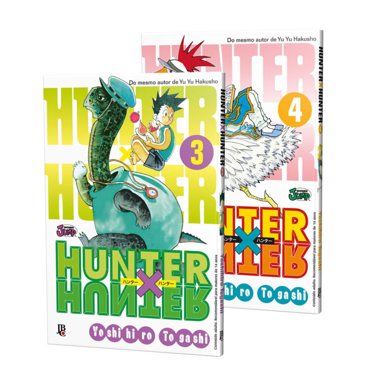 Hunter x Hunter - Reposição [ 3 ~ 24]