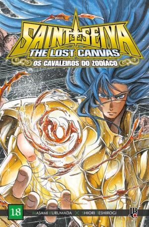 capa de CDZ The Lost Canvas ESP. #18