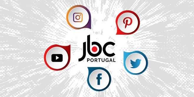 JBC Portugal nas redes sociais