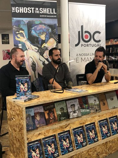 Lançamento oficial de The Ghost in the Shell pela JBC Portugal