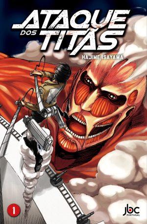 capa de Ataque dos Titãs #01