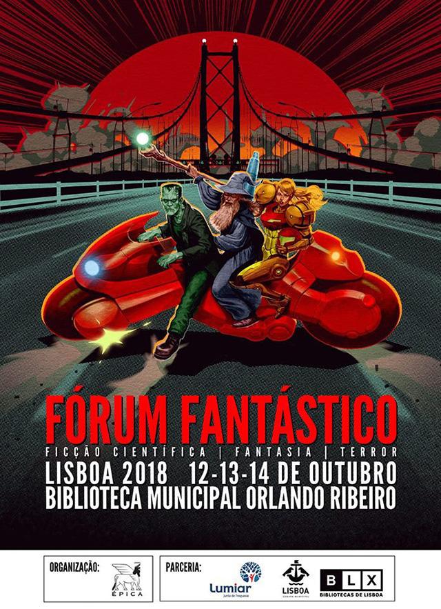 Editor da JBC Portugal no Fórum Fantástico 2018