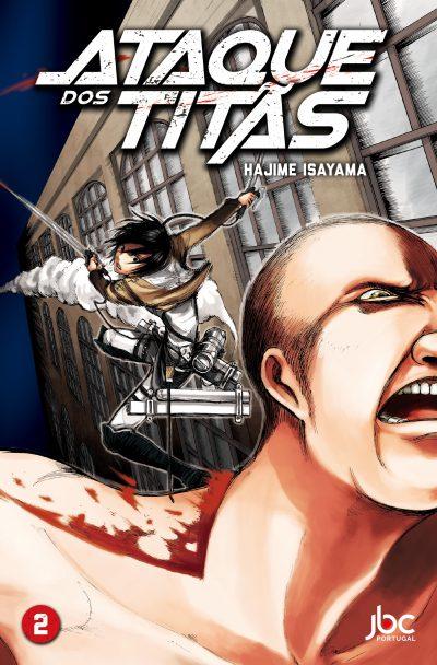 Esta é a capa de Ataque dos Titãs 2