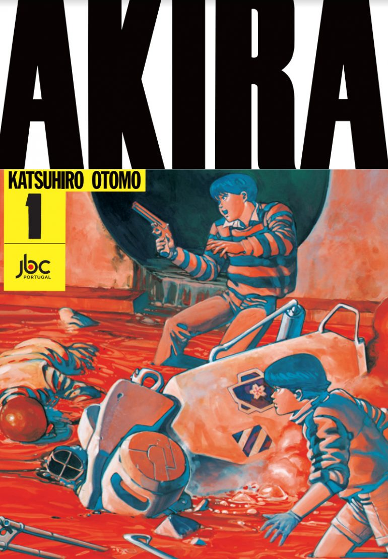 Esta é a capa de Akira