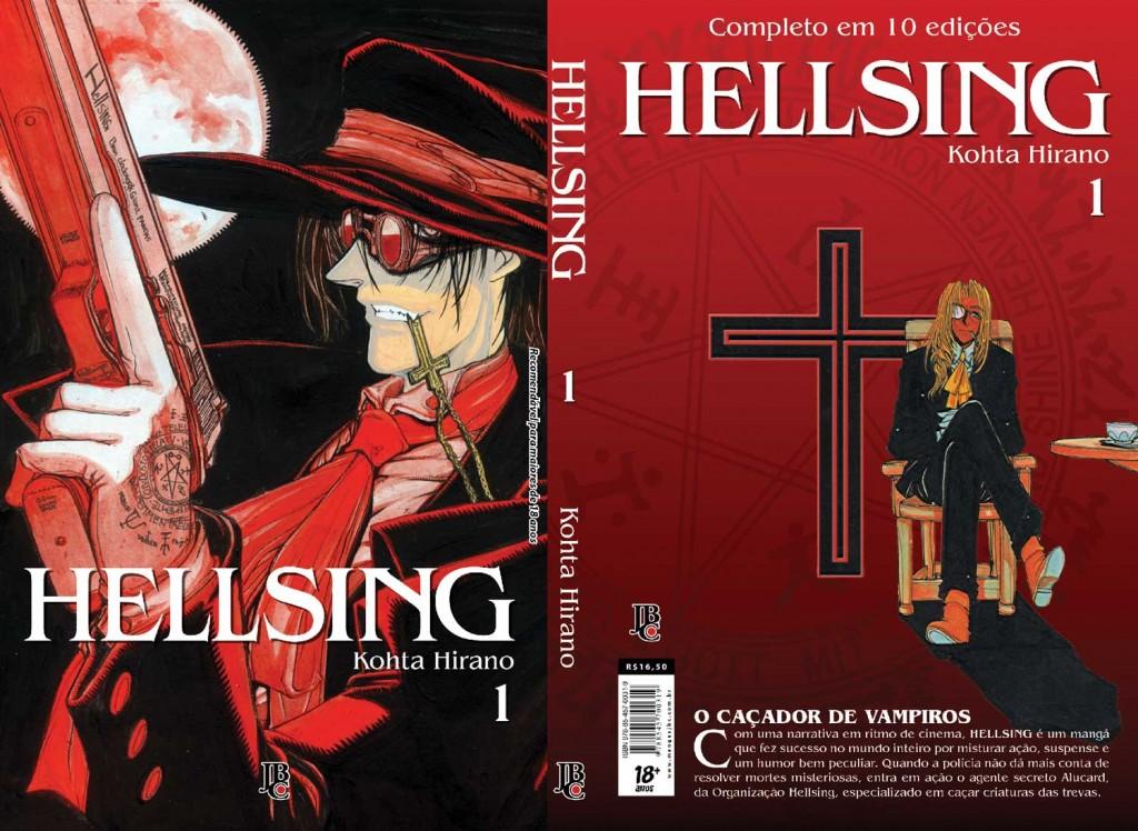 Capa completa do 1º volume da nova edição.