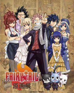 Fairy Tail exibição