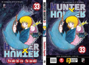 hunterxhunter 33 capa