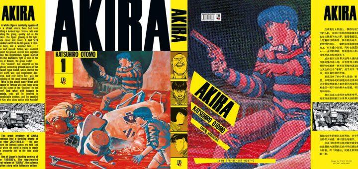 AKIRA #1 - Sobrecapa completa