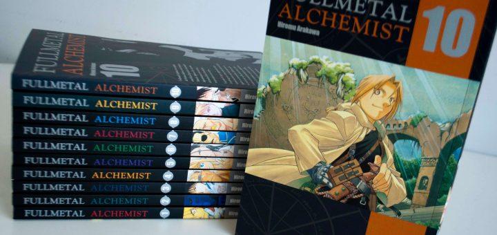 Fullmetal Alchemist #10 nas bancas