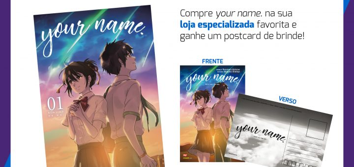 your name. – Pré-venda com brinde!!