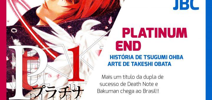 #NovidadeJBC: Platinum End!