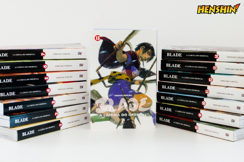 Blade – A Lâmina do Imortal  15 chegou! - Henshin 92076c65e443d