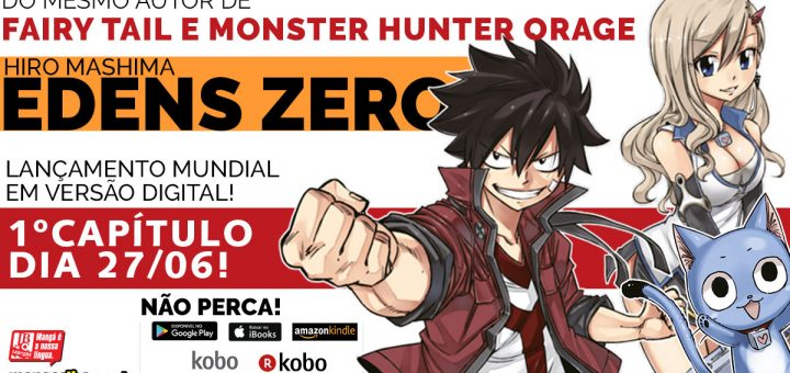 Edens Zero Vem Aí!