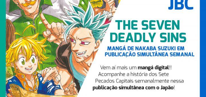 #NovidadeJBC: Simulpub de The Seven Deadly Sins!