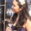 Yasmin também é embaixadora do sake Jun Daiti no Brasil