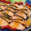 Salmão grelhado ao molho de maracujá, um dos hits do cardápio do restaurante Rangetsu criado pelo chef Shin Koike