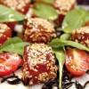 Receita: Maguro pupunha salada