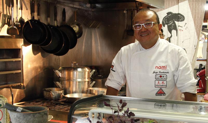 Chef Jorge Tsuchimoto