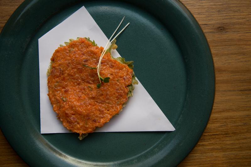 Canape Spicy tuna (com tempurá de shisô)