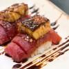 Sushi de atum com foie gras, do Nakka