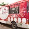 Kimchi bus é um projeto para divulgar a gastronomia coreana