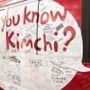 Mensagens de pessoas dos mais de 27 países por onde o Kimchi Bus passou