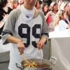 Barracas serviram degustação de pratos coreanos, de graça