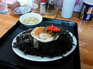 black yakisoba