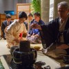 Hatsugama é nome dado à primeira cerimônia do chá do ano