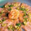 Receita: Carpaccio de salmão