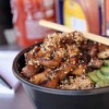 Donburi de frango grelhado e furikake caseiro