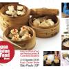 Oficinas de produção e decoração de pratos da culinária asiática