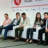 Debate entre profissionais da indústria da pesca durante o Fórum Brasileiro da Indústria de Pescados