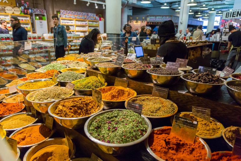 Diversos Temperos do Chelsea Market - Fotos: Rafael Salvador